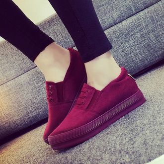 shoes burgundy it girl shop