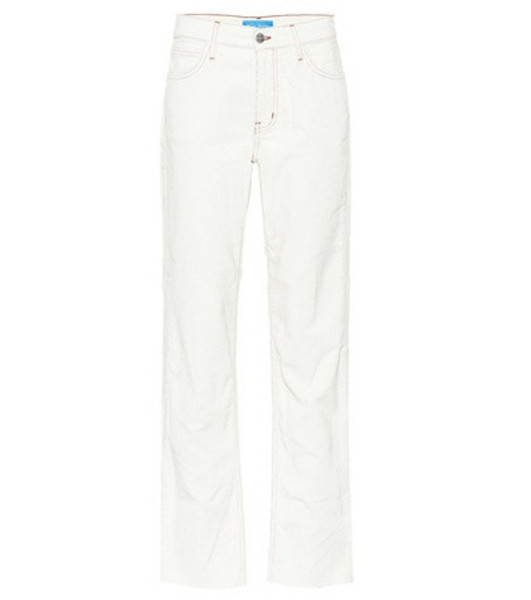 M.i.h Jeans Phoebe corduroy pants in white