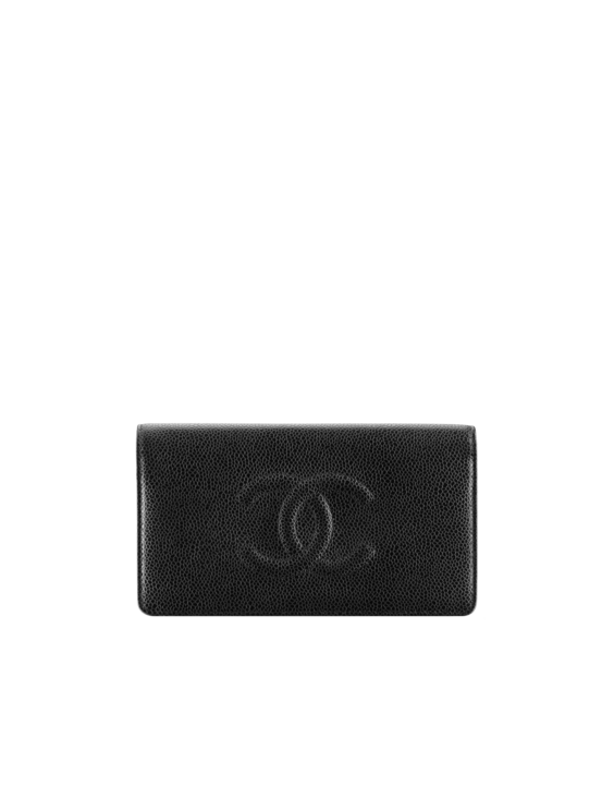 Wallet in grained calfskin - CHANEL