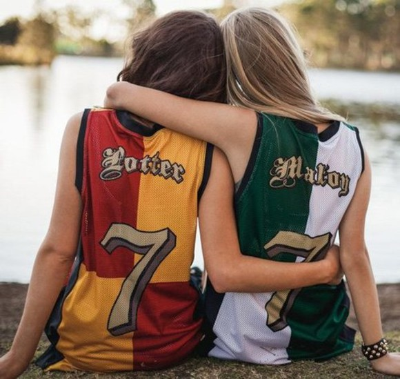 draco malfoy harry potter quidditch shirt potter malfoy seven serpeverde gryffindor slytherin t-shirt potterhead hogwarts red and gold silver and green