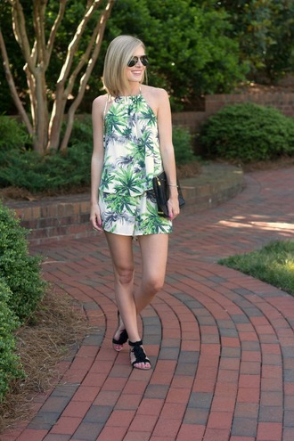 life with emily blogger romper shoes hat