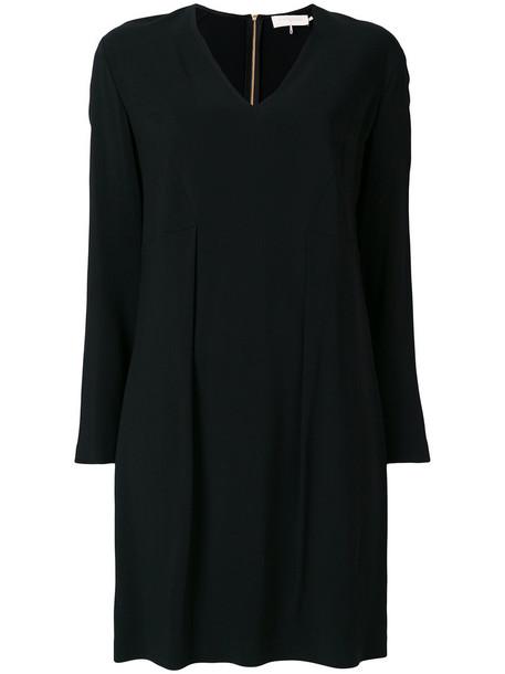 L'Autre Chose dress shift dress women spandex black