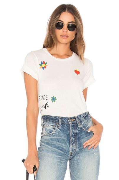 Lauren Moshi vintage white top