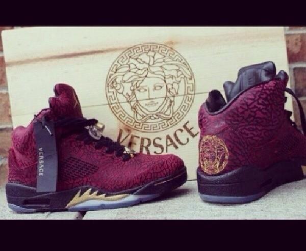 shoes versace jordans