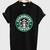 Starbucks logo t-shirt - mycovercase.com