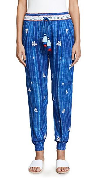 HEMANT AND NANDITA pants blue