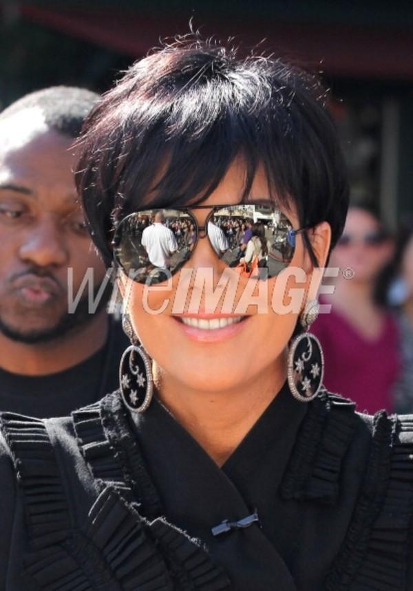 Sunglasses Kris Jenner Aviator Sunglasses Wheretoget