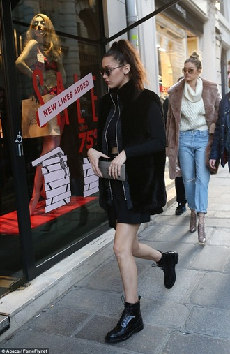 shorts bella hadid shoes boots