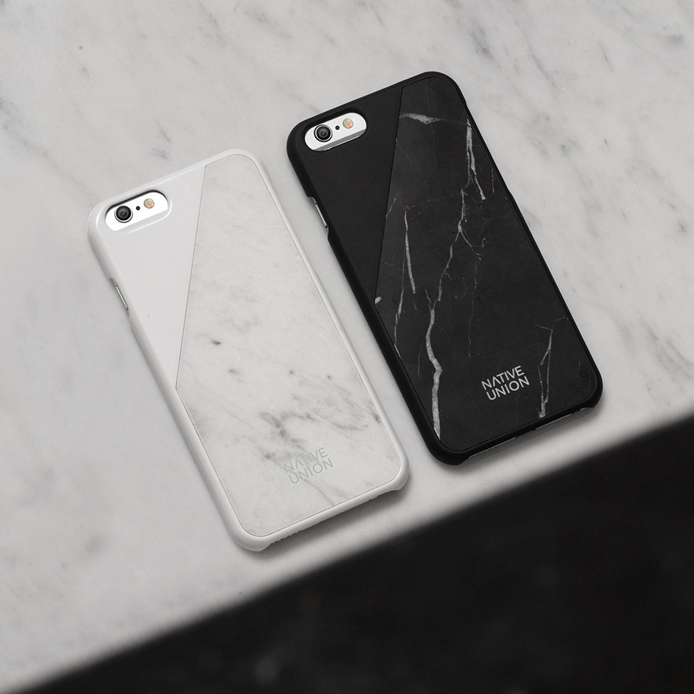promo code 81d6f 0c646 Clic Marble iPhone 6 Case - White from Native Union