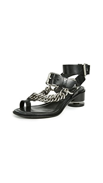 Alexander Wang sandals black shoes