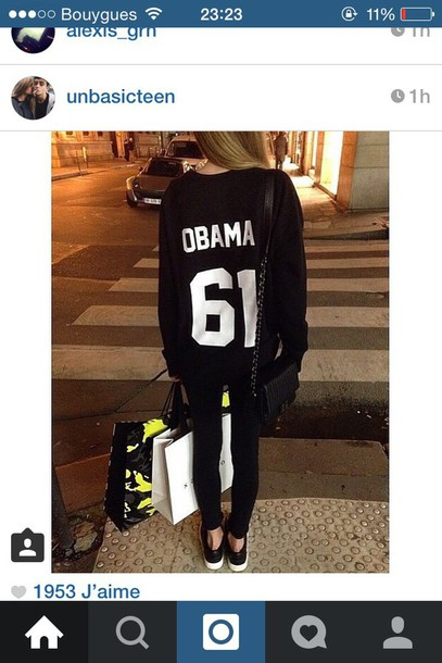 sweater style cool obama shirt black heels black dress black bikini black jeans