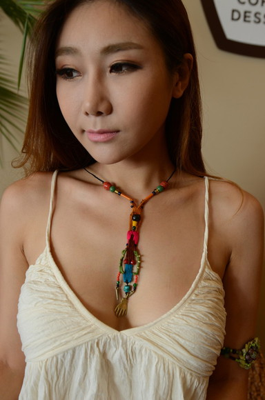 coachella festival jewels burning man summer necklace designer resort one of a kinds