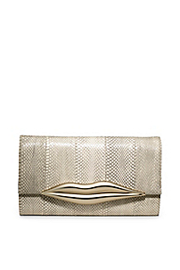 Designer Clutches - Clutch and Evening Purses - Box Clutch by DVF