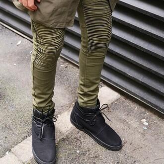 jeans maniere de voir kanyewest biker jean zara designer