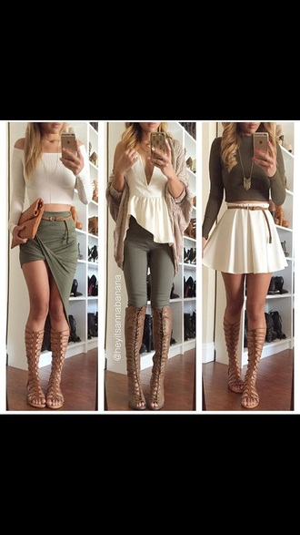 shirt white white top white shirt peplum v neck skirt blouse pretty classy nice chic beautiful pants shoes sandals