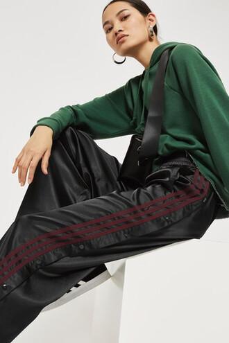 pants track pants adidas originals black