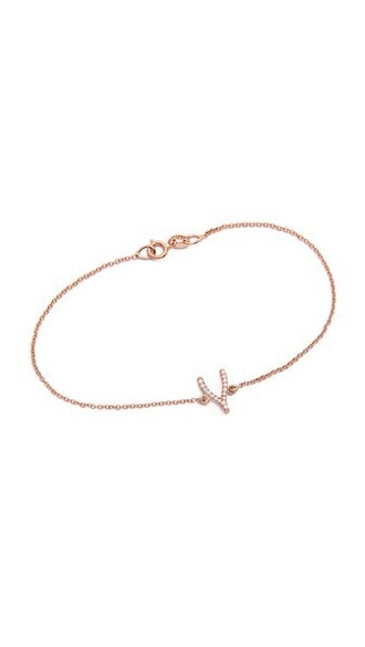 rose gold rose wishbone gold jewels