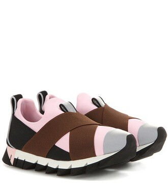 sneakers pink shoes