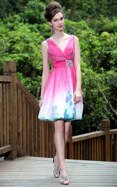 dress pink short dress pink prom dress short party dresses elliot claire london sleeveless dress