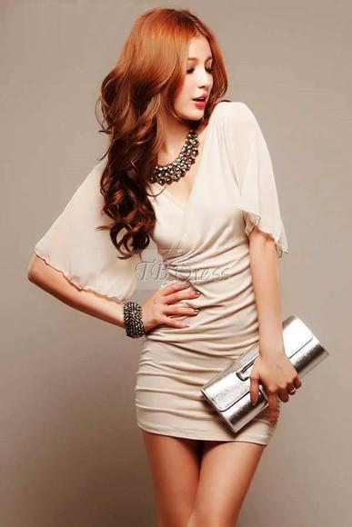 bag black dress tbdress-club beige beige dress elegant elegant dress cute dress