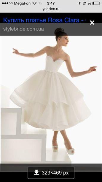 dress white wedding dress
