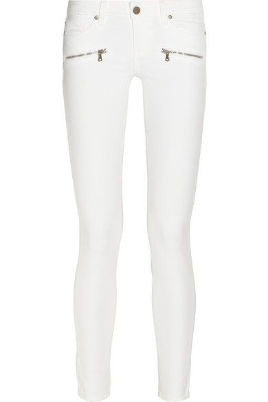 Paige | Indio Zip mid-rise skinny jeans | NET-A-PORTER.COM