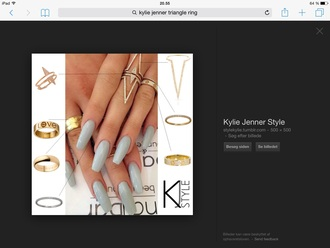 jewels kylie jenner kylie jenner jewelry ring gold