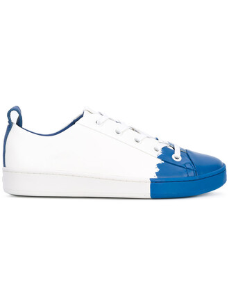 women classic sneakers leather white shoes