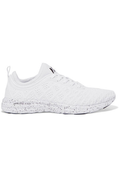 APL Athletic Propulsion Labs mesh sneakers white shoes