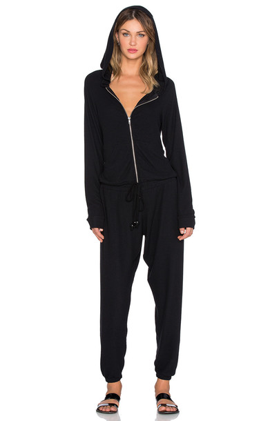 MICHAEL LAUREN jumpsuit zip black