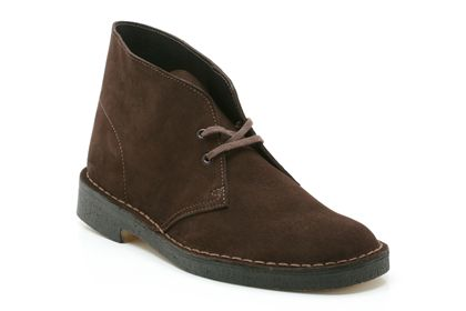 Desert boot in brown suede from  shoes