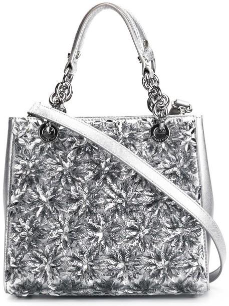 MICHAEL Michael Kors women bag crossbody bag grey metallic