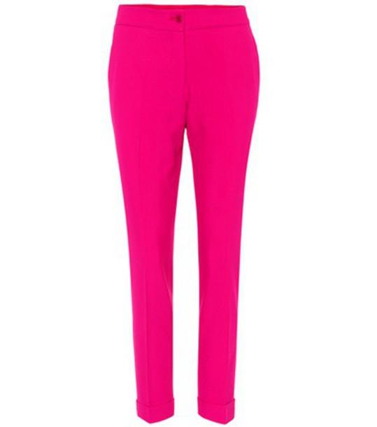 ETRO cropped pink pants