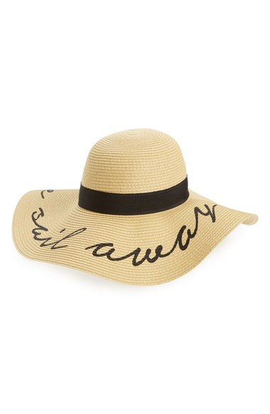BP. 'Come Sail Away' Floppy Straw Hat   Nordstrom