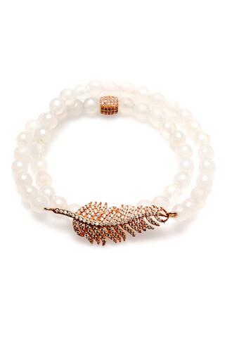 jewels white wrap electric picks bracelets bikiniluxe