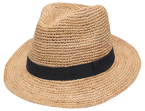 Hat Fedora Fedora Straw Hat Summer Hat Mens Fedora Summer