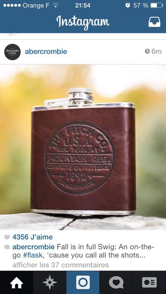 Belt flasks abercrombie & fitch