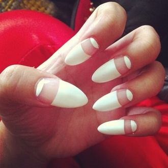nail polish white nails white nude