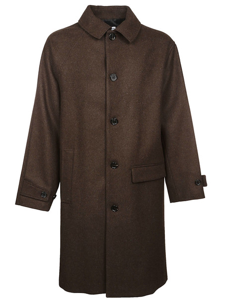 Gosha Rubchinskiy Single Breasted Coat in brown