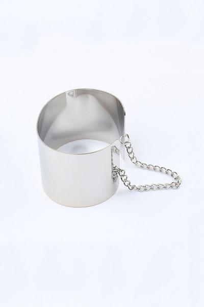 Shiny Plate Cuff Bracelet - OASAP.com