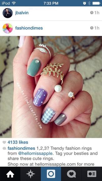 ring nail polish