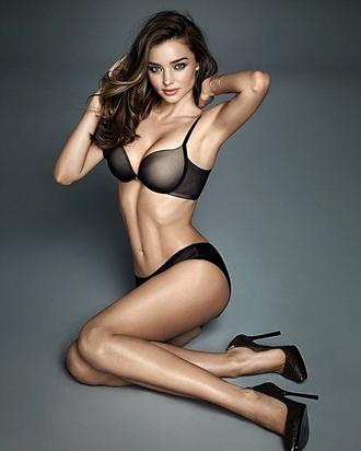 bra miranda kerr lingerie set black lingerie underwear