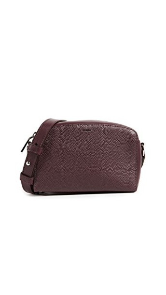 Shinola cross bag oxblood
