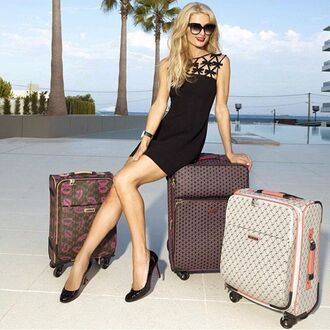dress black dress mini dress paris hilton sunglasses instagram summer dress home accessory