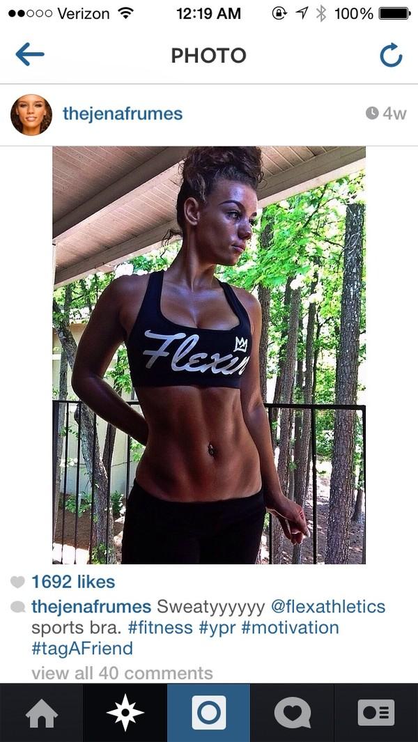 top black flexin sports bra workout fitness cute sexy