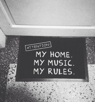 home accessory doormat
