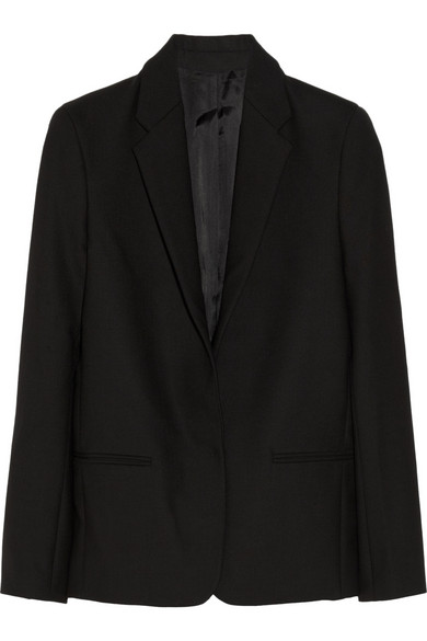 Acne | Cast D wool-blend blazer | NET-A-PORTER.COM