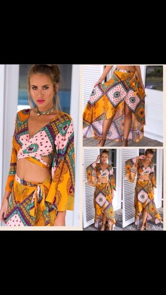 dress hippie beach dress bohemian