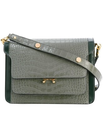 bag shoulder bag grey