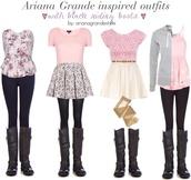 shirt,ariana grande,jeans,sweater